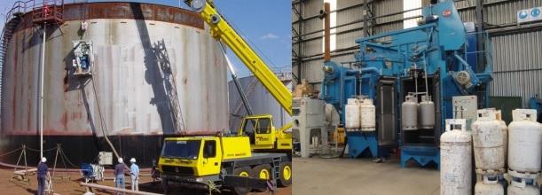 granalladoras de cilindros glp gnc y tanques estacionarios