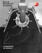 turbina-de-granallado-arrojando-granalla-cym-grafico