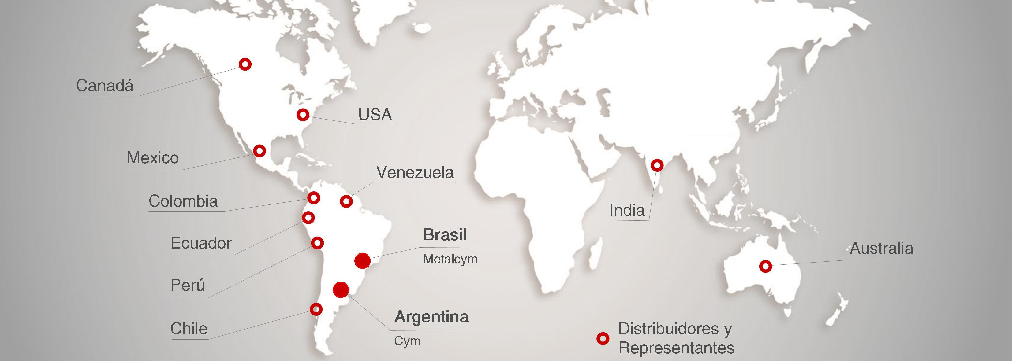 Mapa de contacto