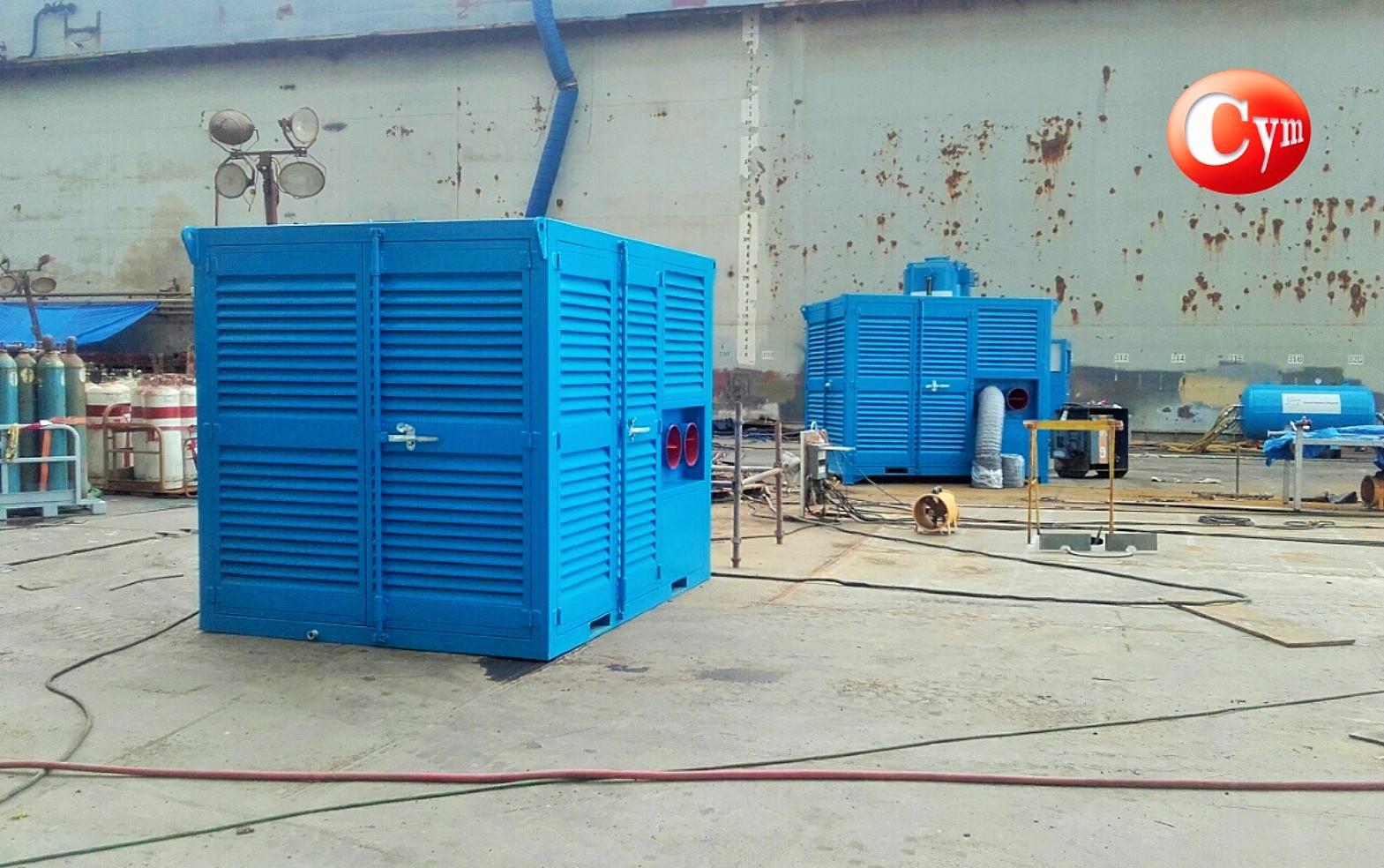 Deshumidificador-para-granallado-o-pintura-de-barcos-cymmateriales