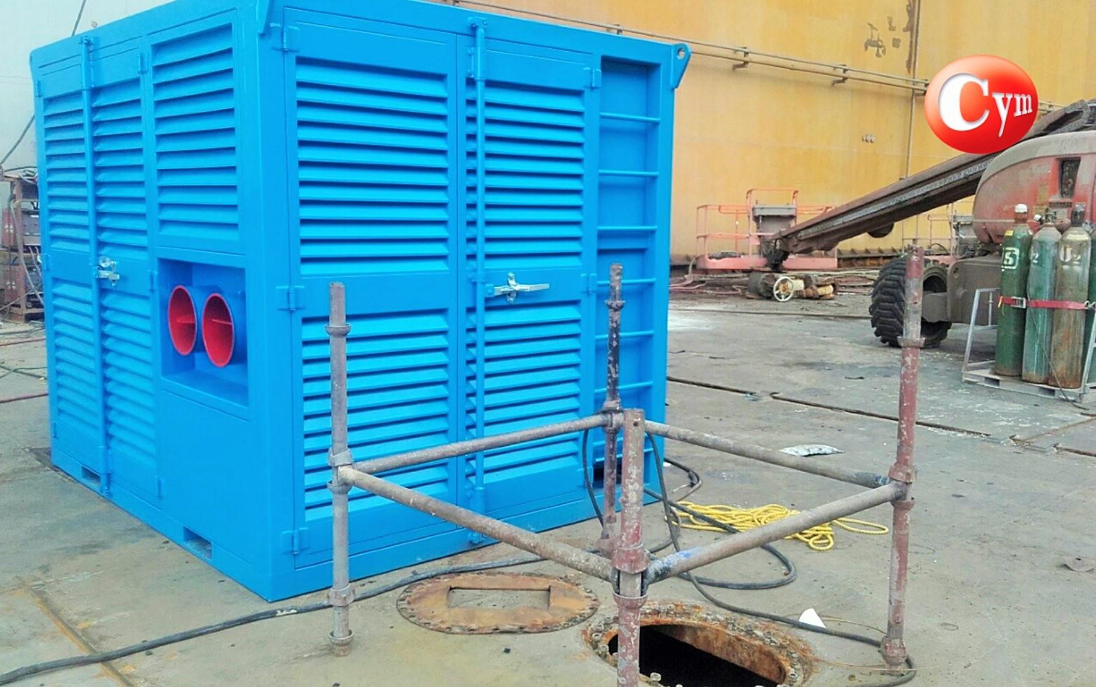 Deshumidificador-para-granallado-o-pintura-de-barcos-metalcym