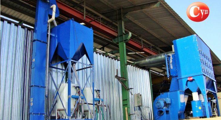 limpiadores-de-granalla-ARC-para-procesos-de-granallado-cym