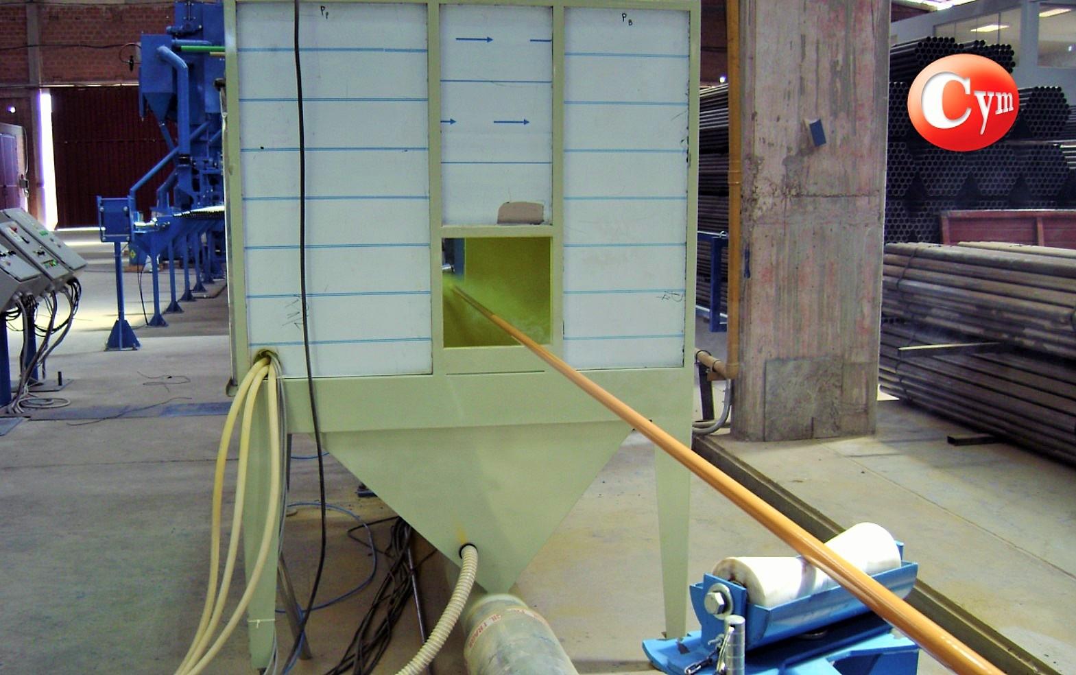 linea-de-granallado-y-pintado-en-polvo-de-tubos-tub4-cymmateriales
