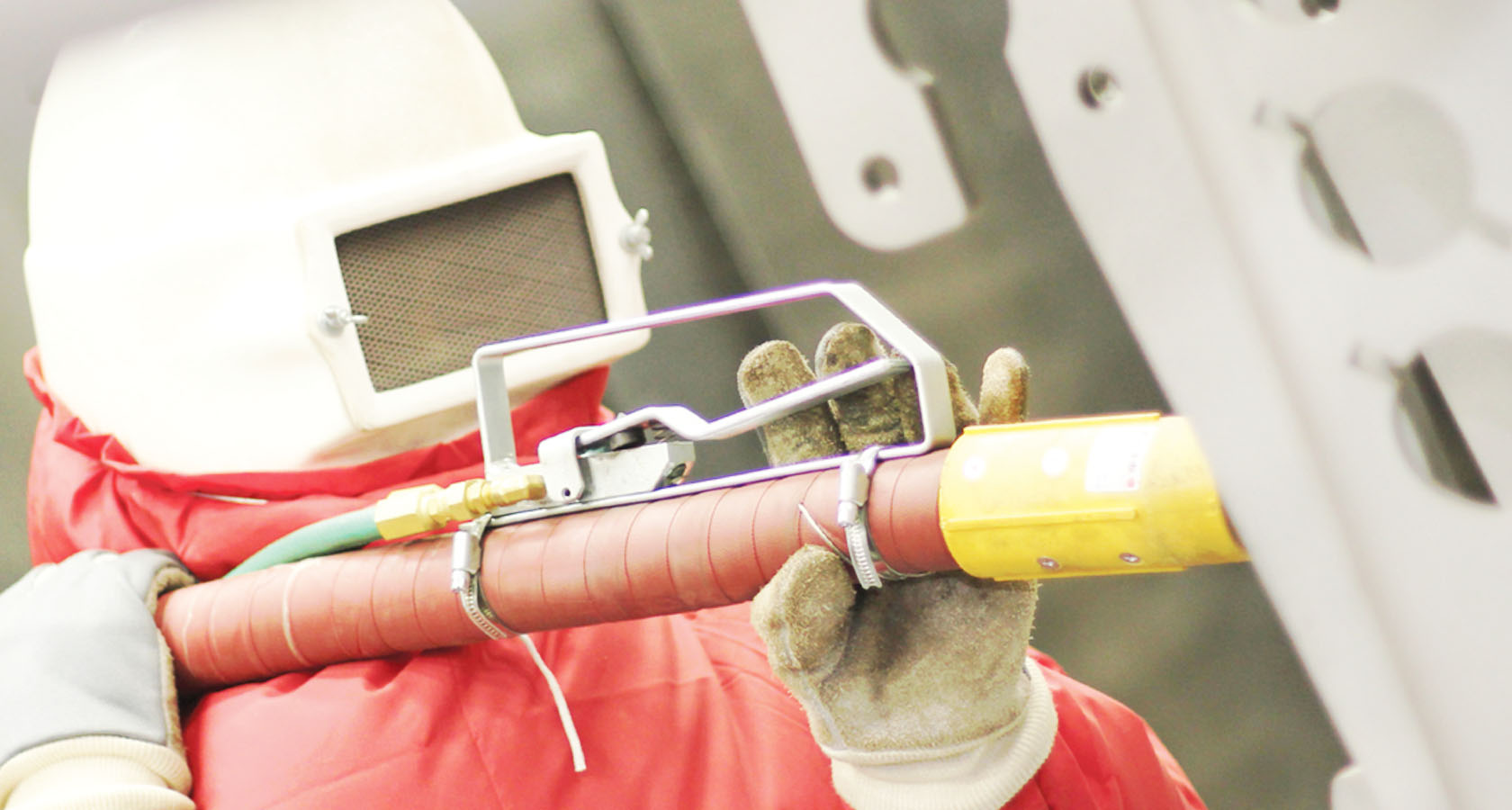 Services and advice blasting and painting processes